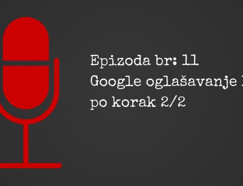 Google oglašavanje sa Ivanom Petrović (druga epizoda)